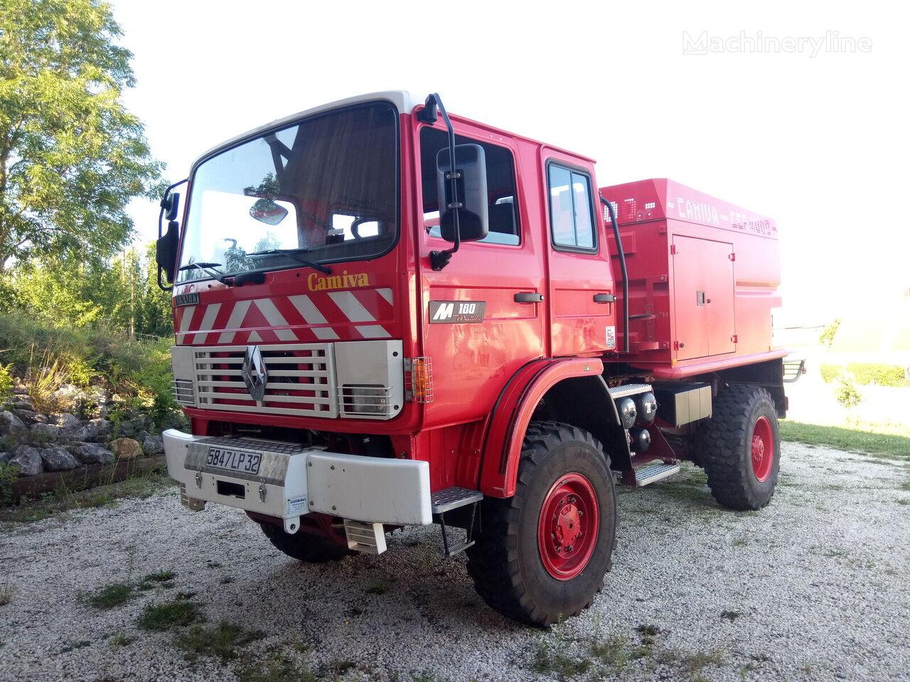 RENAULT M180 4x4 - CCF4000 camión de bomberos